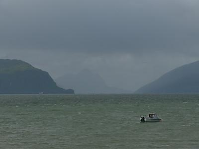 auf der Küstenstrasse von Mo I Rana nach Bodø / @RobAng 2012 / Kvalnes, Utskarpen, Nordland, NOR, Norwegen, 20 m ü/M, 06.09.2012 14:24:41