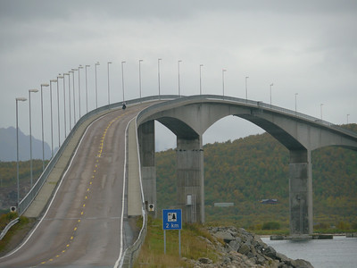 Velotour Lofoten-Vesterålen-Narvik  / @RobAng 2012 / Bitterstad, Stokmarknes, Nordland, Vesterålen, NOR, Norwegen, 25.3459 m ü/M, 12/09/2012 10:10:02