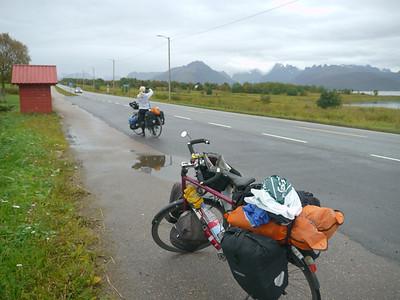 Velotour Lofoten-Vesterålen-Narvik  / @RobAng 2012 / Grytting, Kvitnes, Nordland, Vesterålen, NOR, Norwegen, 17.1684 m ü/M, 12/09/2012 10:36:58