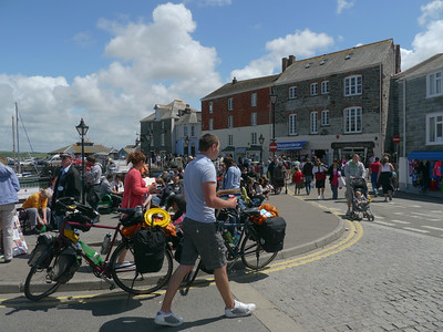 © RobAng 2011, Velotour GB (Dorset-Devon-Cornwall), Cornwall, Padstow, Padstow, 4 m