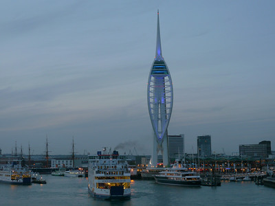 © RobAng 2011, Velotour GB (Dorset-Devon-Cornwall), Portsmouth, Old Portsmouth, St. Thomas Ward, 0 m