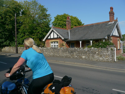 © RobAng 2011, Velotour GB (Dorset-Devon-Cornwall), Isle of White, Niton and Whitwell, Höhe 116 m