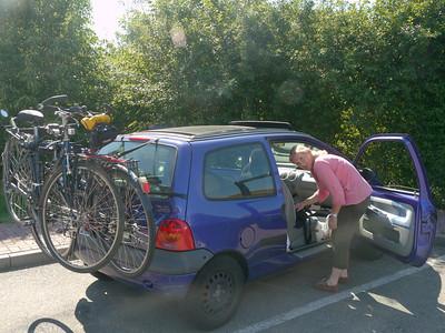 © RobAng 2011, Anreise per Auto nach Le Havre für Velotour GB (Dorset-Devon-Cornwall).