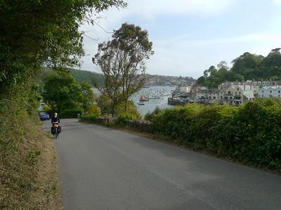 © RobAng 2011, Velotour GB (Dorset-Devon-Cornwall), Cornwall, Fowey, Lanteglos, 16 m