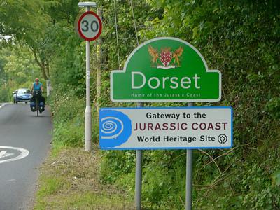© RobAng 2011, Velotour GB (Dorset-Devon-Cornwall), Dorset, Lyme Regis, 151 m