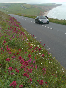 © RobAng 2011, Velotour GB (Dorset-Devon-Cornwall), Isle of White, Freshwater, Höhe 26 m