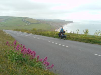 © RobAng 2011, Velotour GB (Dorset-Devon-Cornwall), Isle of White, Freshwater, Höhe 30 m