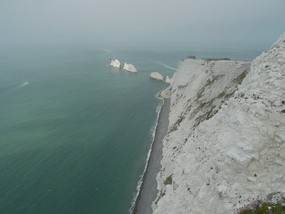 © RobAng 2011, Velotour GB (Dorset-Devon-Cornwall), Isle of White, Totland, Höhe 105 m