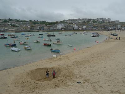 © RobAng 2011, Velotour GB (Dorset-Devon-Cornwall), Cornwall, St Ives, St. Ives, 3 m
