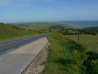 © RobAng 2011, Velotour GB (Dorset-Devon-Cornwall), Dorset, Abbotsbury, 155 m