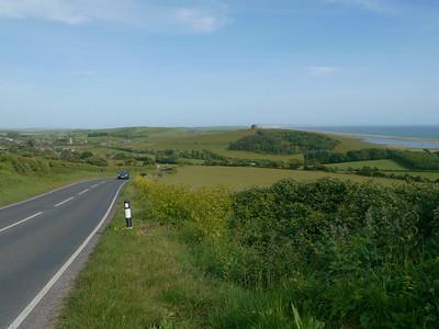 © RobAng 2011, Velotour GB (Dorset-Devon-Cornwall), Dorset, Abbotsbury, 88 m
