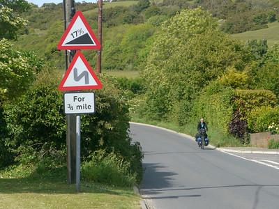 © RobAng 2011, Velotour GB (Dorset-Devon-Cornwall), Dorset, Portesham, 89 m