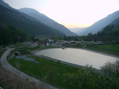 Ostern 2011:  Scuol - Inntal - Pillerhöhe - Imst - Innsbruck - Achensee - Maurach/Pertisau - Achenpass - Tegernsee - München. Ca. 350km