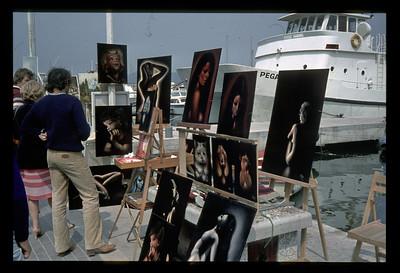 @RobAng 1979 - mit  Yvonne, Silvia + Heinz nach Südfrankreich