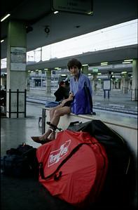 @RobAng 2001, Velotour Peloponnes (GR). Anreise Rimini (I)