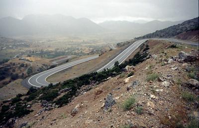 @RobAng 2001, Velotour Peloponnes (GR). Tag3, Kalavrita-Kastria-Klitoria-Vitina