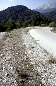 @RobAng 2003, Nord-Griechenland per Velo: Tag4, Tsepelovo-Illochori-Elefthero-Konitsa-Kalpaki