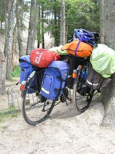 ©RobAng 2005, Wanderdünen Leba, Polen - Baltikum Tour per Velo Berlin-Gdansk-Kaliningrad-Tallinn