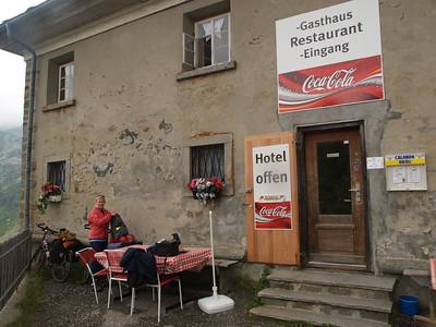 1. Aug. 09: Chur - Splügen Dorf - Splügenpass  per Velo