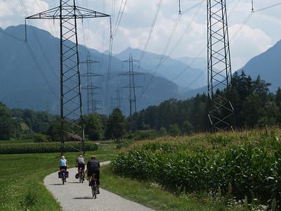 1. Aug. 09: Chur - Splügenpass per Velo