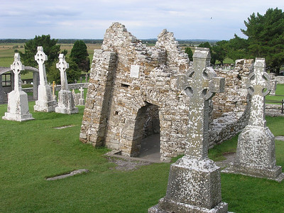 2004/08/04 18:05:24 /  ©RobAng /  Ireland - Irland / Co Offaly / Clonmacnoise