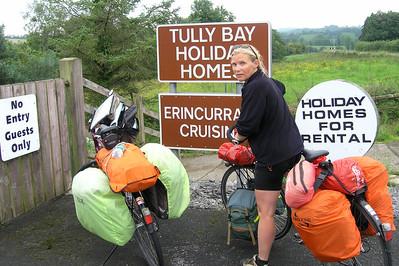 2004/08/13 11:21:45 /  ©RobAng /  GB - North Ireland / Nordirland / Lower Lough Erne (Bay) / Tully Bay (N of Enniskillen)