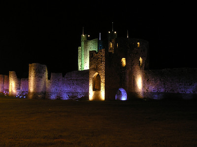 2004/08/14 23:06:06 /  ©RobAng /  Ireland / Irland / Co. Meath / Trim Castle
