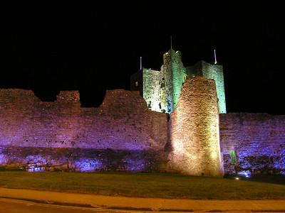 2004/08/14 22:56:24 /  ©RobAng /  Ireland / Irland / Co. Meath / Trim Castle