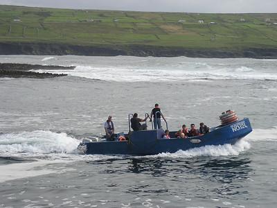 2004/08/06 16:14:16 /  ©RobAng /  Ireland - Irland / Co. Galway / Ferry Doolin - Aran Islands