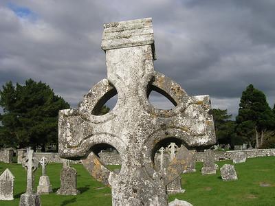 2004/08/04 17:59:31 /  ©RobAng /  Ireland - Irland / Co Offaly / Clonmacnoise