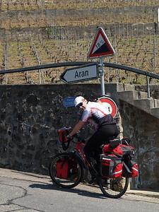 Ostern 09 - per Velo rund um den Genfersee und via Bonneville nach Annecy / Aufnahmeort  Grandvaux (394.4 m), La Conversion, Schweiz /  ©  Rob Tani