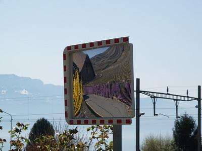 Ostern 09 - per Velo rund um den Genfersee und via Bonneville nach Annecy / Aufnahmeort  Grandvaux (393.8 m), La Conversion, Schweiz /  ©  Rob Tani