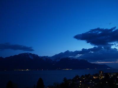 Ostern 09 - per Velo rund um den Genfersee und via Bonneville nach Annecy / Aufnahmeort  Chernex (441.9 m), Montreux, Schweiz /  ©  Rob Tani