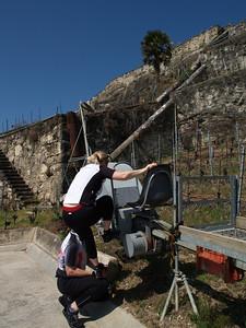 Ostern 09 - per Velo rund um den Genfersee und via Bonneville nach Annecy / Aufnahmeort  Chexbres (451 m), Chexbres, Schweiz /  ©  Rob Tani