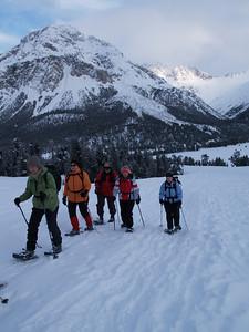 Schneeschuh-Wanderung am Ofenpass, Buffalora - Val Mora (CH) / © RobAng, 1.1.09