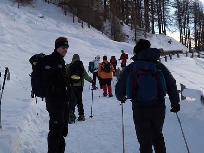 Schneeschuh-Wanderung am Ofenpass, Lü - Alp Tabladatsch - Lü  (CH) / © RobAng, 31.12.08