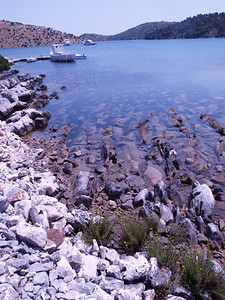 2006/07/11 13:09:34 /  ©RobAng /  Croatia - Kroatien / Insel Dugi Otok, Mir-Salzsee, Naturpark Telascica