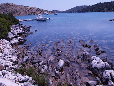 2006/07/11 13:10:02 /  ©RobAng /  Croatia - Kroatien / Insel Dugi Otok, Mir-Salzsee, Naturpark Telascica