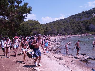2006/07/11 12:27:23 /  ©RobAng /  Croatia - Kroatien / Insel Dugi Otok, Mir-Salzsee, Naturpark Telascica