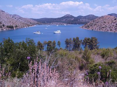 2006/07/11 13:06:22 /  ©RobAng /  Croatia - Kroatien / Insel Dugi Otok, Mir-Salzsee, Naturpark Telascica