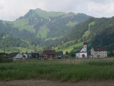 ©RobAng 2009/05/22 18:20:57, Euthal, 891.3 m // Velotour  Auffahrt 09 - Türlersee-Aegerisee-Raten-Sihlsee-Sattelegg-Wäggitalersee