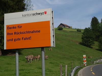 ©RobAng 2009/05/22 16:21:27, Biberbrücke, 850.4 m // Velotour  Auffahrt 09 - Türlersee-Aegerisee-Raten-Sihlsee-Sattelegg-Wäggitalersee
