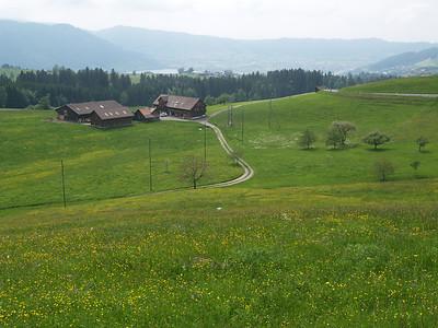 ©RobAng 2009/05/22 15:01:55, Oberägeri, 1036.3 m // Velotour  Auffahrt 09 - Türlersee-Aegerisee-Raten-Sihlsee-Sattelegg-Wäggitalersee