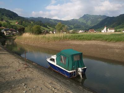 ©RobAng 2009/05/22 18:23:47, Euthal, 891.3 m // Velotour  Auffahrt 09 - Türlersee-Aegerisee-Raten-Sihlsee-Sattelegg-Wäggitalersee