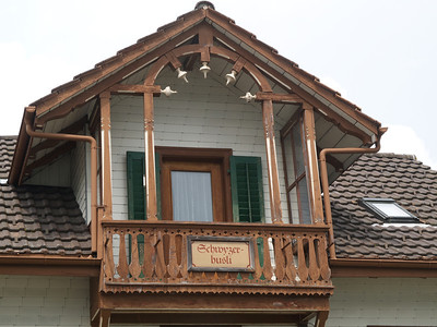 ©RobAng 2009/05/22 14:20:00, Unterägeri, 716.3 m // Velotour  Auffahrt 09 - Türlersee-Aegerisee-Raten-Sihlsee-Sattelegg-Wäggitalersee