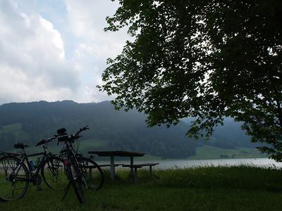 ©RobAng 2009/05/22 18:30:54, Euthal, 891.3 m // Velotour  Auffahrt 09 - Türlersee-Aegerisee-Raten-Sihlsee-Sattelegg-Wäggitalersee
