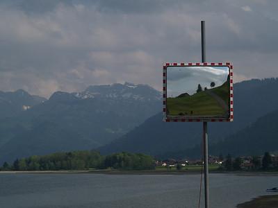 ©RobAng 2009/05/22 17:21:53, Einsiedeln, 892.3 m // Velotour  Auffahrt 09 - Türlersee-Aegerisee-Raten-Sihlsee-Sattelegg-Wäggitalersee