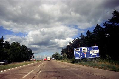 RobAng 1989 Transit-Autobahn n. Berlin (DDR)