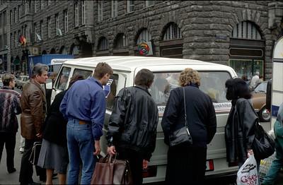 Leipzig 1990 (DDR kurz nach Mauerfall) @RobAng 1990