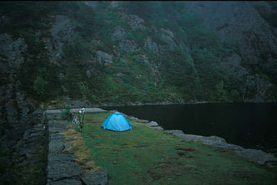 @RobAng 1992 - Norway by bicycle - the south & westcoast
